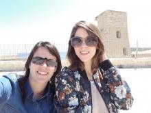 Eugenia y Elena en Malta